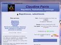 Aperçu de : Claudine Pairis Magnetisme  Radiesthesie  Voyance